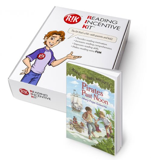 RIK for Magic tree House: Pirates Past Noon - with book